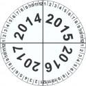 Kalibrační štítek 4-letý
