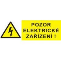 Pozor elektrické zařízení 2