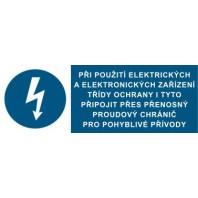 Při použití elektrických a elektronických zařízení...