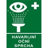 Havarijní oční sprcha