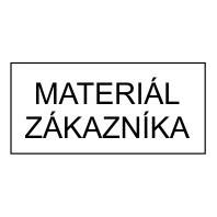Materiál zákazníka 15 x 7 mm