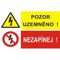 Pozor uzemněno! - Nezapínej