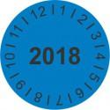 Kalibrační štítek kulatý